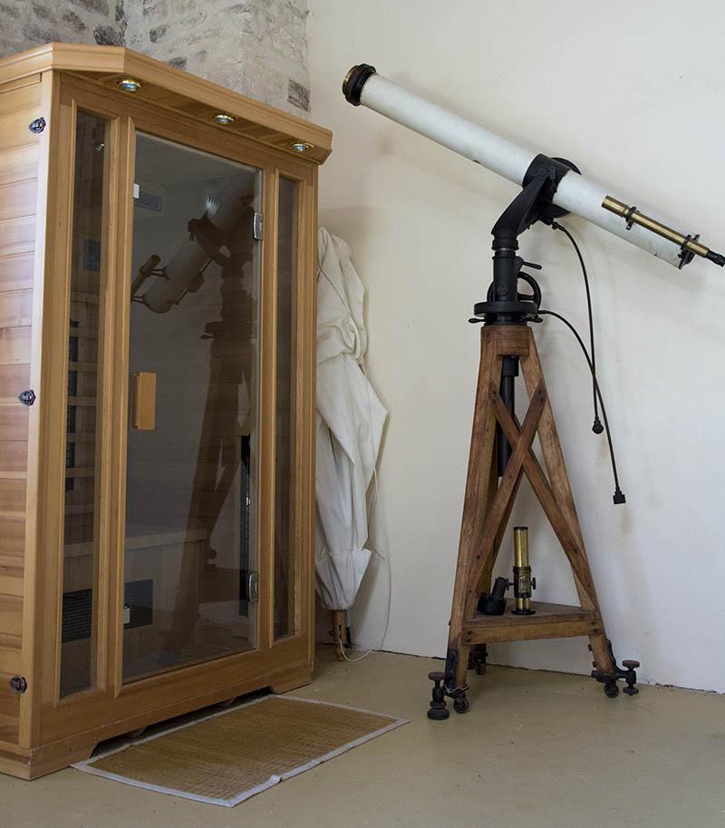 Le clos vigneau chambre d 39 h tes for Sauna la detente
